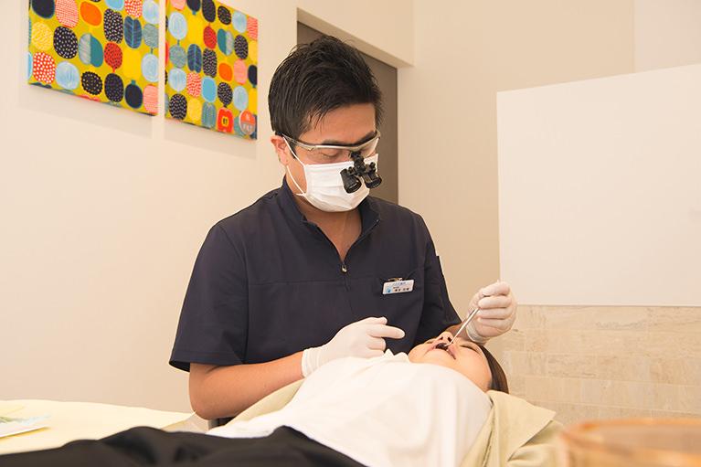 痛みの少ない虫歯治療